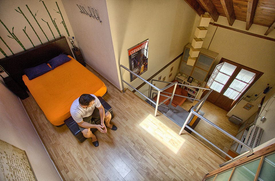 Reforma de Un Loft para un Arquitecto